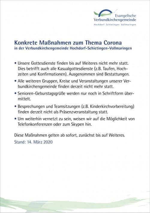140320 HP Maßnahmen Corona VKG Hochdorf Schietingen Vollmaringen